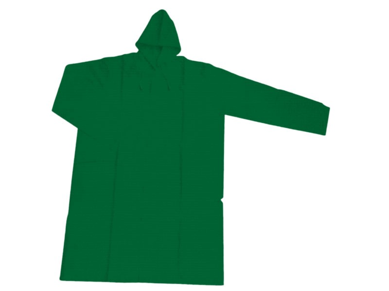Womax kišna kabanica XXL 0.28mm zelena ( 0290073 )