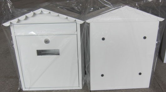 Haus poštansko sanduče 300mm x 113mm x 355mm belo ( 0200026 )