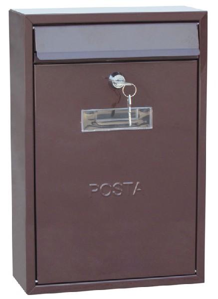 Haus poštansko sanduče 240mm x 75mm x 350mm braon ( 0200027 )
