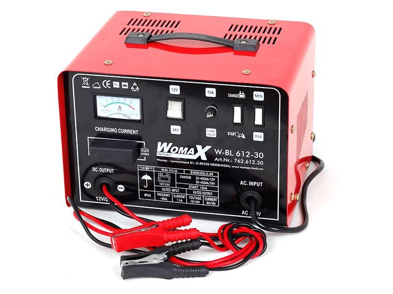 Womax punjač akumulatora W-BL 612-30 sa starterom ( 76261230 )