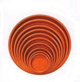 Womax tanjir za saksiju 158mm x 24mm ( 0300310 )