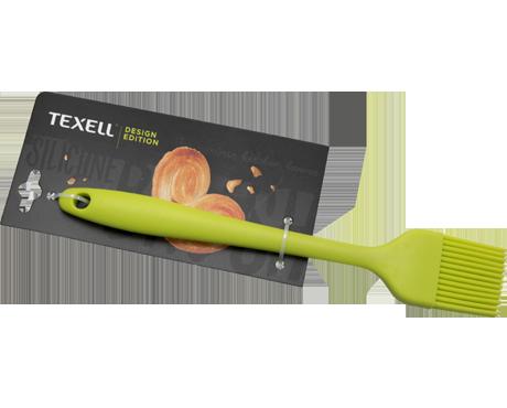 Texell silikonska četkica 20.9cm zelena ( TS-C123Z )