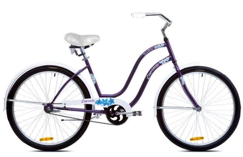 Capriolo sunshine bicikl 26 ljubičasto-belo-plavi 18.5 Ht ( 914586-18 )