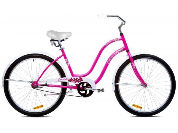 Capriolo sunshine bicikl 26 pink-belo-crveni 18.5 Ht ( 914585-18 )