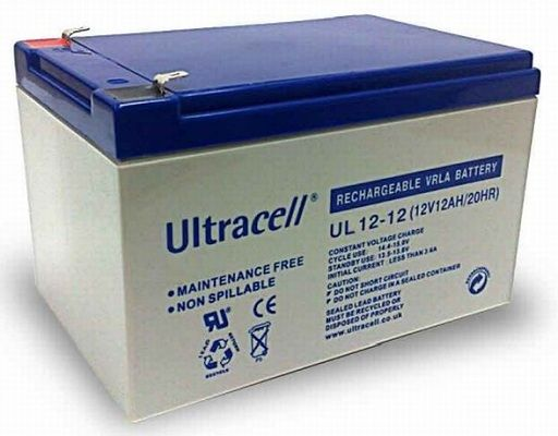 Ultracell Battery 12V / 12.0Ah ( UL12-12 )