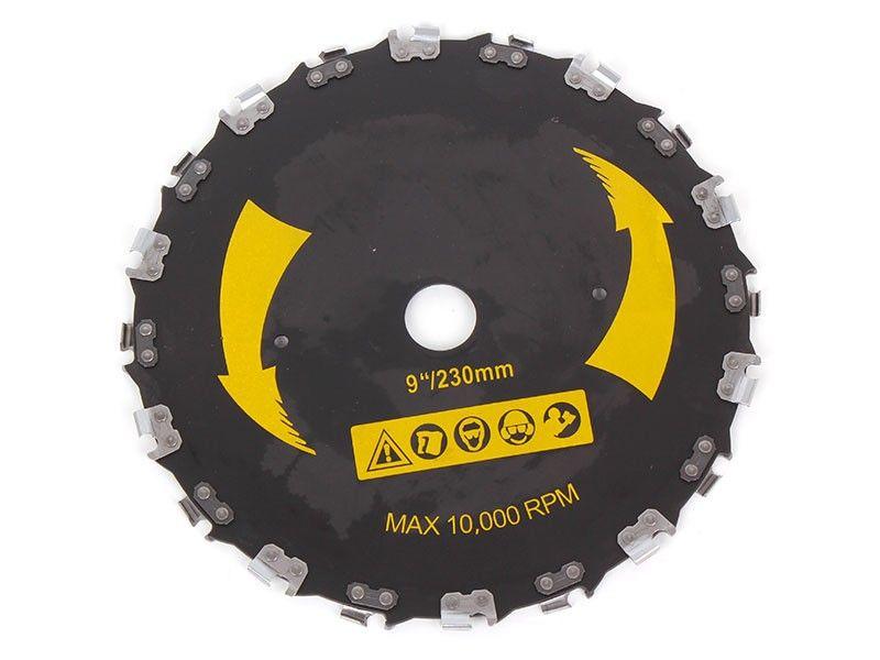 Womax rezna ploča sa lancem za trimer 230x25.4mm ( 78200052 )