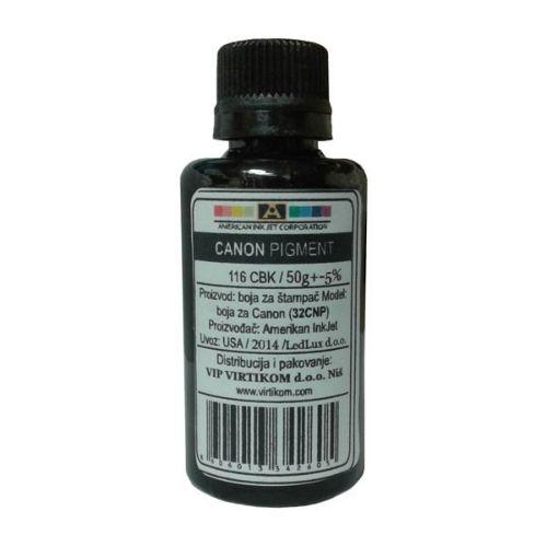 American Inkjet refil za Canon Pixma Black Pigment 116 CBK ( 32CNP/Z )