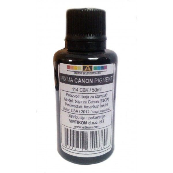 American Inkjet Refil Canon Pixma Pigment ( 114CBK )