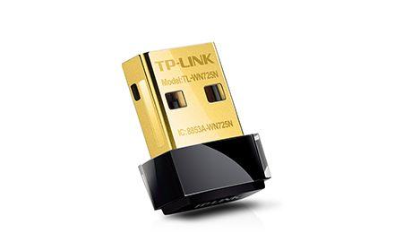 TP-Link TL-WN725N Wireless Lite-N Nano USB2.0 Adapter