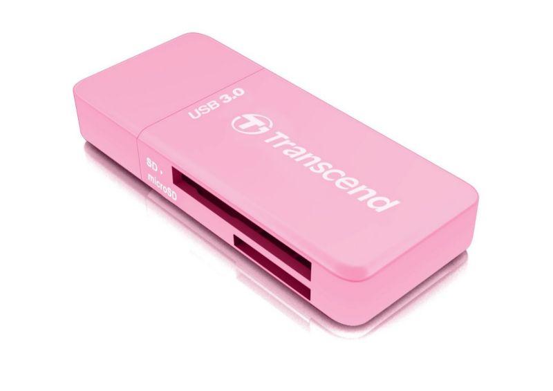 Transcend Card reader USB3.0 Pink ( TS-RDF5R )
