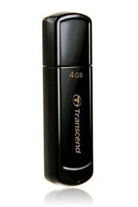 Transcend USB 4GB JetFlash 350 Black ( TS4GJF350 )