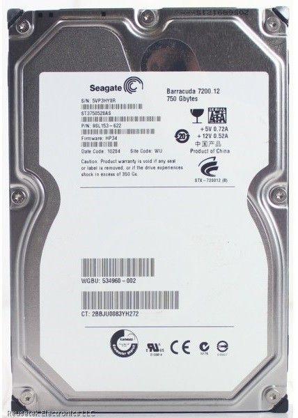 Seagate Barracuda 750GB 3.5 7200rpm 32MB ( ST3750528AS-FR )