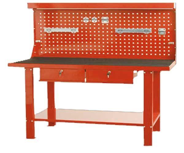 N/A TSC5911H radni sto 1500mm x 648mm x 1550mm sa naslonom narandžasti ( 014945 )